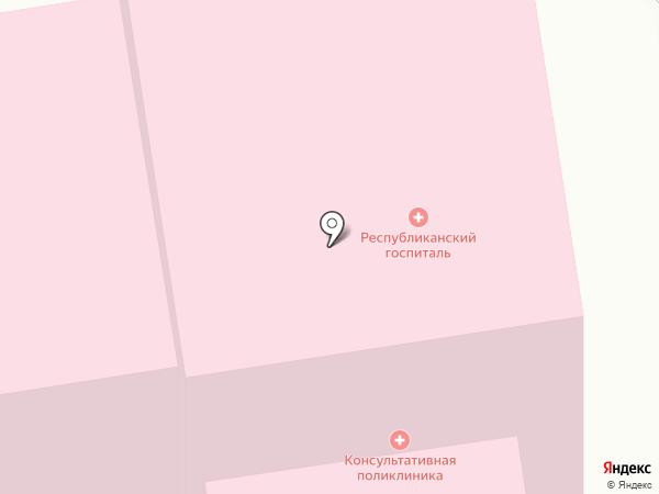 Медея на карте Сыктывкара