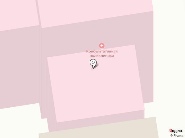 Республиканский госпиталь ветеранов войн и участников боевых действий, ГБУ на карте Сыктывкара