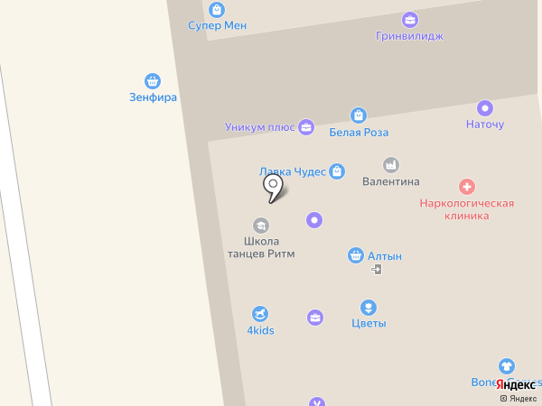 Йоркшир и Мусьен на карте Сыктывкара