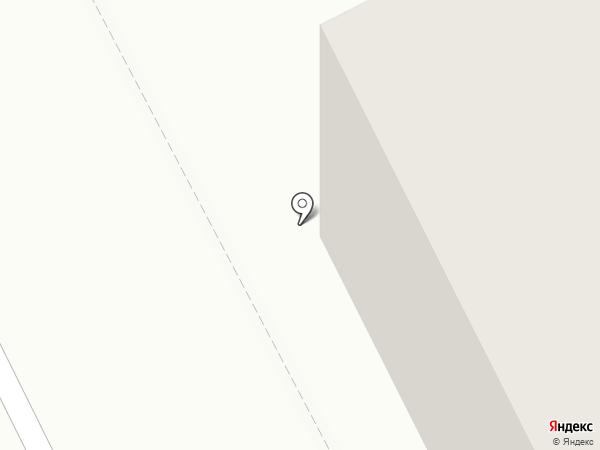 Пармател, ЗАО на карте Сыктывкара
