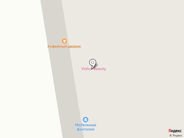 Алграф на карте Сыктывкара
