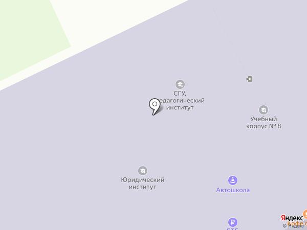 Коми Республиканский лицей-интернат для одаренных детей из сельской местности на карте Сыктывкара