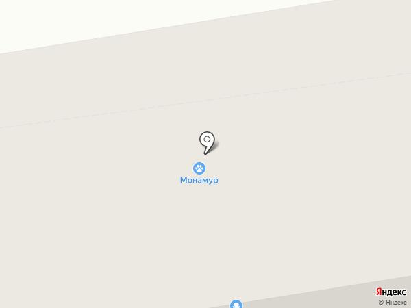 Монамур на карте Сыктывкара