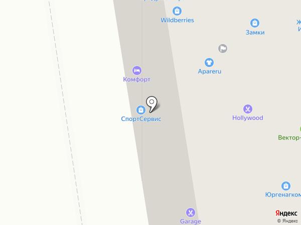 Оценка 24.про на карте Сыктывкара