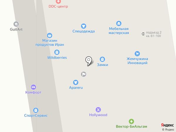 Премиум на карте Сыктывкара