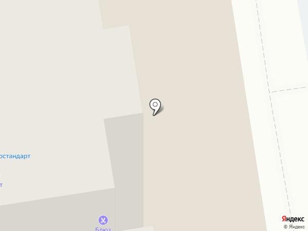Метиз на карте Сыктывкара