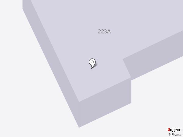Средняя общеобразовательная школа №4 с углубленным изучением отдельных предметов на карте Сыктывкара