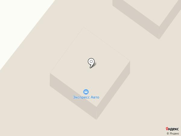 Рамстелл на карте Сыктывкара