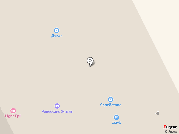 ИСД на карте Сыктывкара