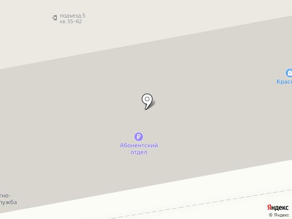 Глянец на карте Сыктывкара
