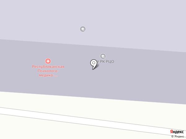Республиканский центр образования на карте Сыктывкара