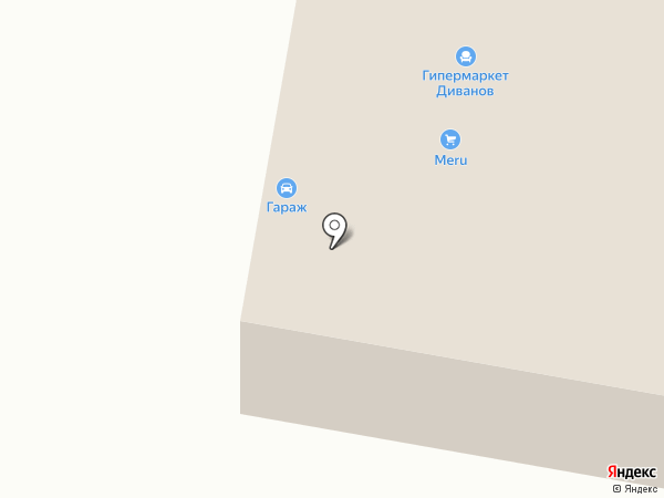 Арго на карте Сыктывкара