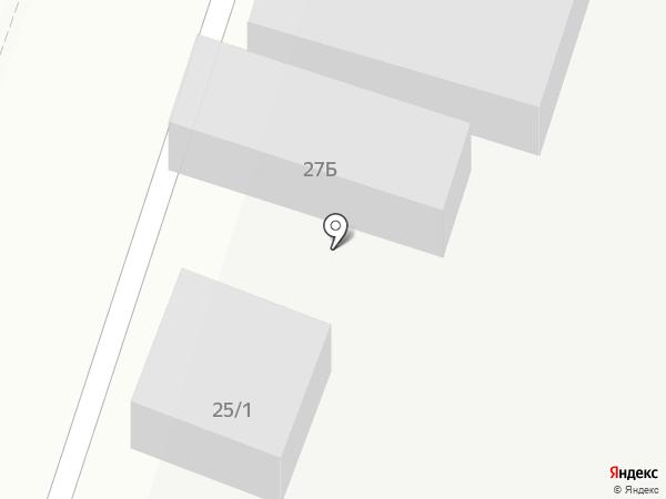 Шиномонтажная мастерская на карте Сыктывкара