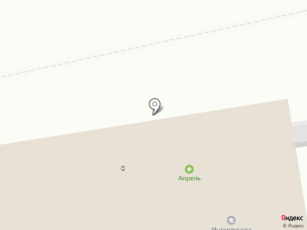 Магазин тканей на карте Сыктывкара