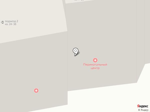 Отделение охраны репродуктивного здоровья на карте Сыктывкара