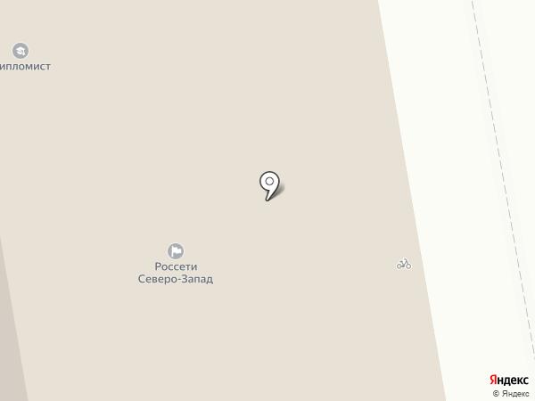 Столовая на Интернациональной, 94 на карте Сыктывкара