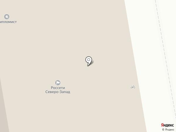 Комиэнерго на карте Сыктывкара