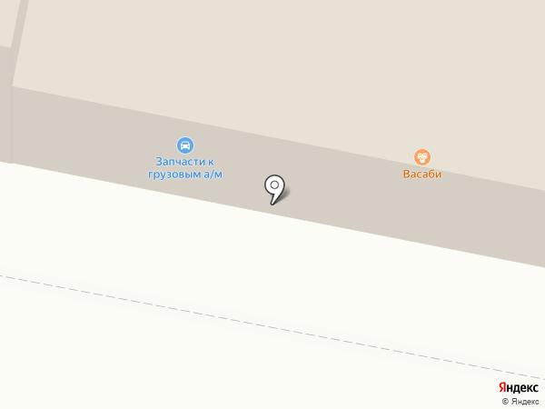 Кировтент на карте Сыктывкара