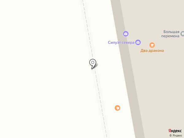 VIS-A-VIS на карте Сыктывкара
