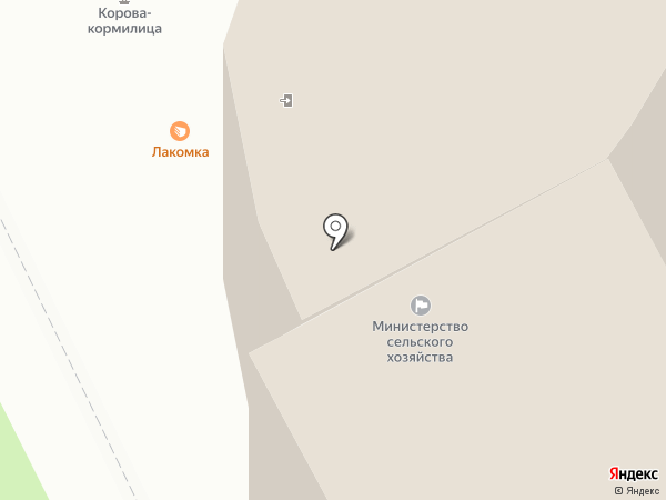 Служба Республики Коми по техническому надзору на карте Сыктывкара