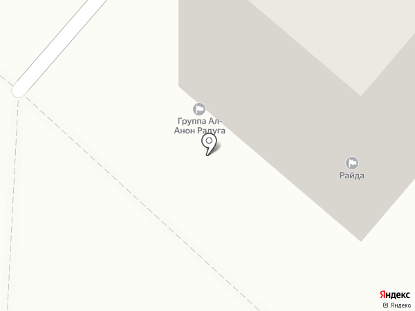 Райда на карте Сыктывкара