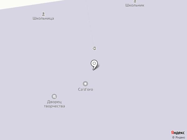 Дворец творчества детей и учащейся молодежи г. Сыктывкара на карте Сыктывкара