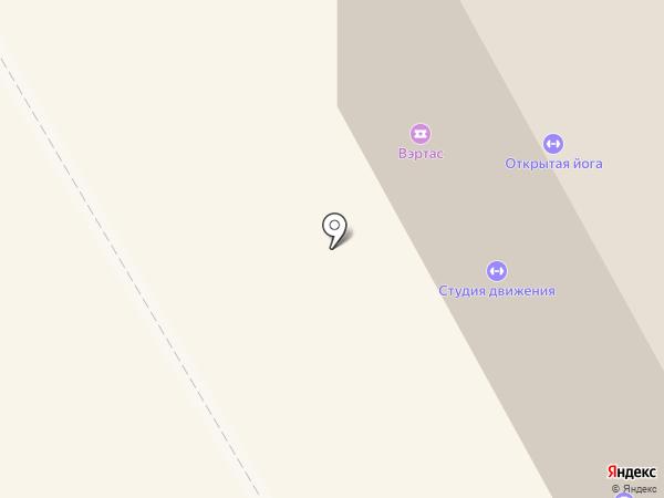 Вэртас на карте Сыктывкара