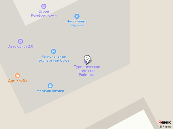 PROFI на карте Сыктывкара