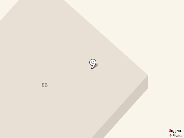 Омега Коми на карте Сыктывкара