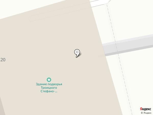 Епархиальный отдел социального служения и церковной благотворительности на карте Сыктывкара