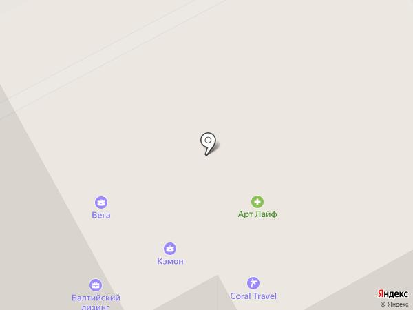 Авторада на карте Сыктывкара
