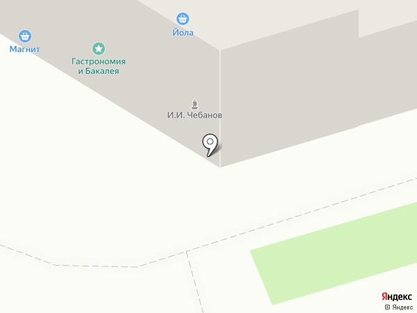 Столичный на карте Сыктывкара