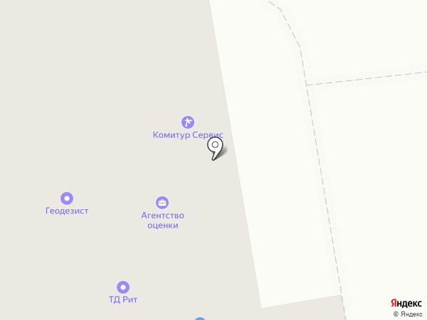 Ветклиника на карте Сыктывкара