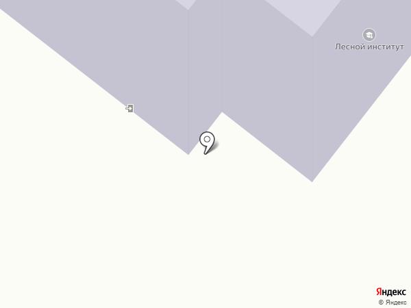 Сыктывкарский лесной институт на карте Сыктывкара