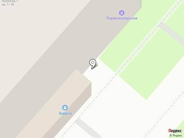 Столплит на карте Сыктывкара