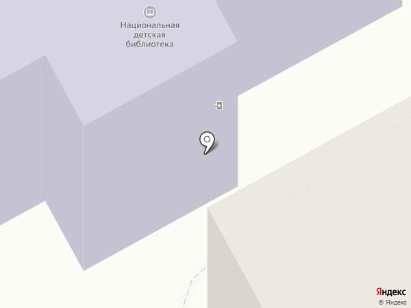 Национальная детская библиотека Республики Коми им. С.Я. Маршака на карте Сыктывкара