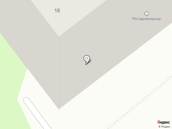 Территориальный орган Федеральной службы по надзору в сфере здравоохранения по Республике Коми на карте Сыктывкара