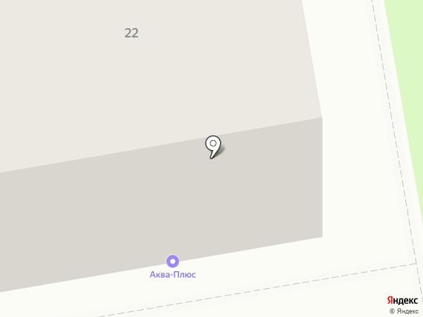 Комисруб на карте Сыктывкара