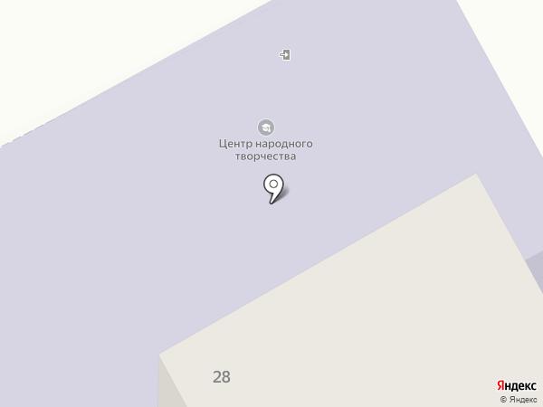 Центр народного творчества и повышения квалификации, ГАУ на карте Сыктывкара