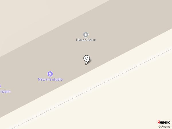 Пан Диван на карте Сыктывкара