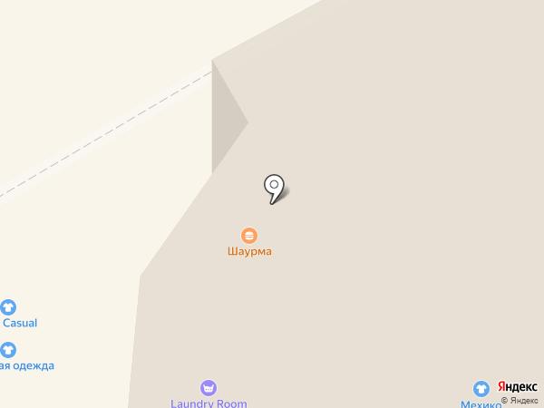 КРЫЛЬЯ на карте Сыктывкара