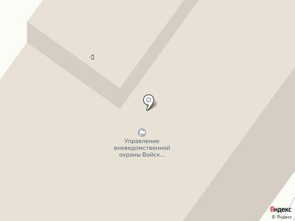 Управление вневедомственной охраны МВД по Республике Коми на карте Сыктывкара