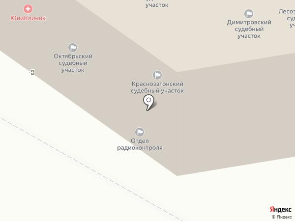 Мировые судьи г. Сыктывкара на карте Сыктывкара