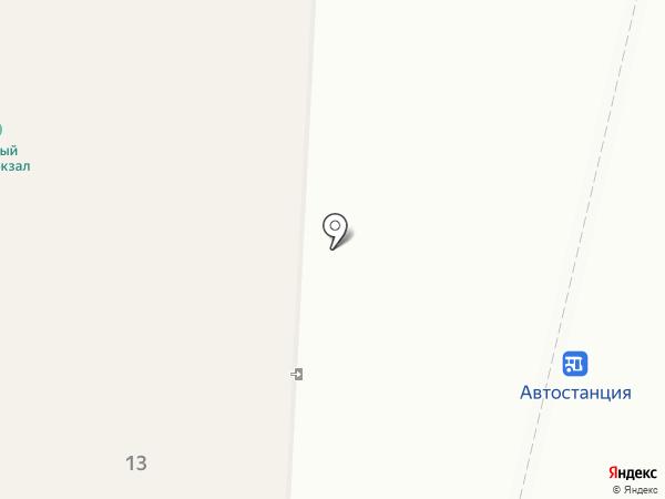 Автоперевозчик на карте Сыктывкара