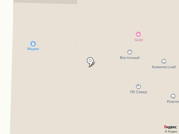 Сантехкомплект Сыктывкар на карте Сыктывкара