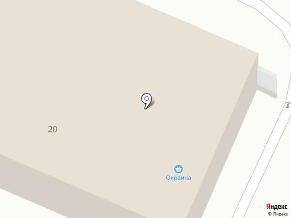 Гамма-Сыктывкар на карте Сыктывкара