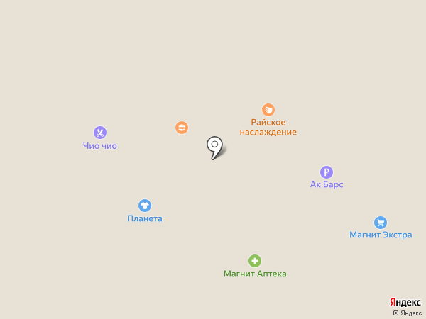 Магазин меда на Южной на карте Нижнекамска