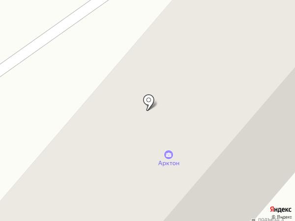 Арктон на карте Нижнекамска
