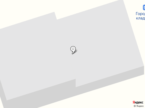 Городское кладбище г. Нижнекамска на карте Нижнекамска