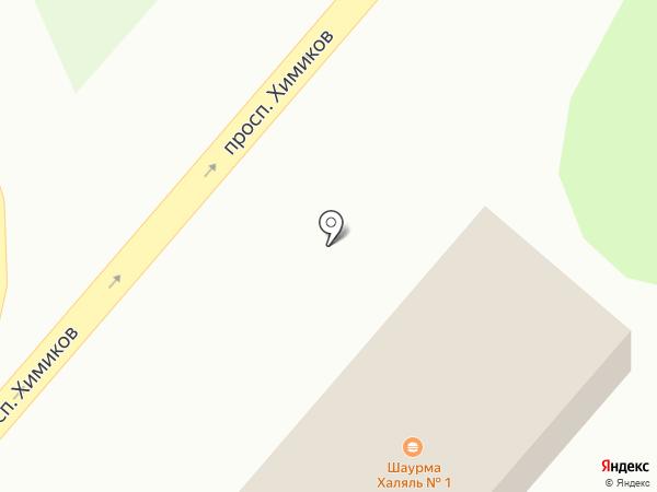 Vip шаурма на карте Нижнекамска